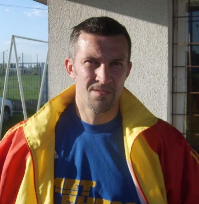 Krzysztof Podlasek został nowym szkoleniowcem Wisłoka Wiśniowa.