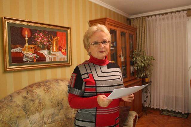 Grażyna Juszczyk jest już na emeryturze - wolałaby o całej sprawie zapomniec.
