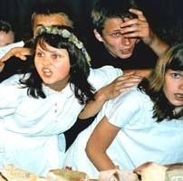 Spektakl młodzi sejnianie stworzyli od początku do końca praktycznie sami.