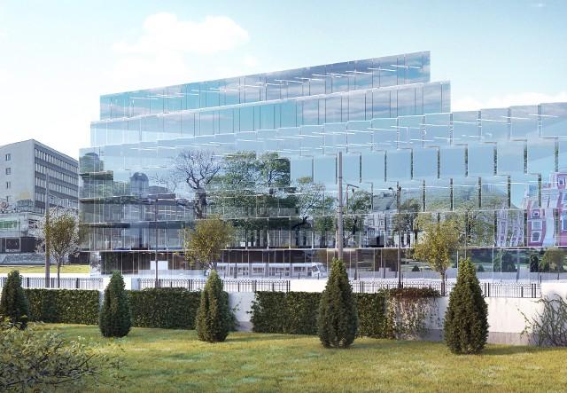 Lustrzana fasada hotelu sprawi, że to nie budynek, a jego otoczenie będzie dominującym elementem tej przestrzeni