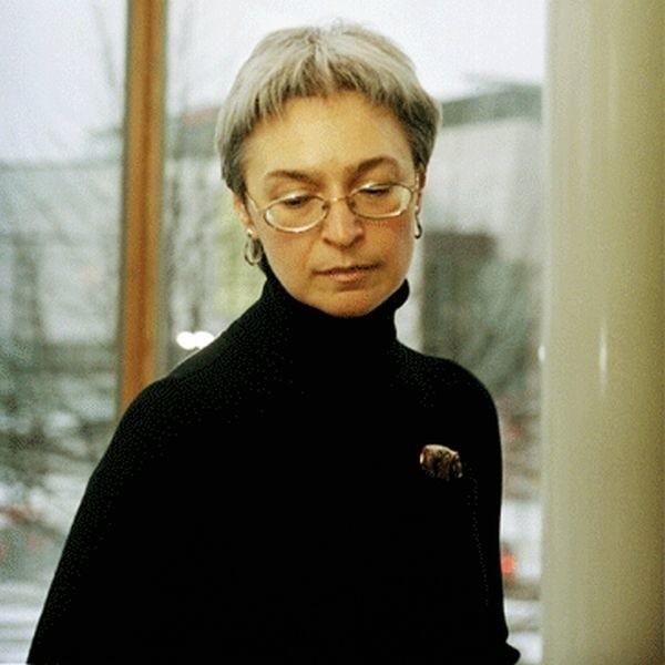 Politkowska, jedna z najwybitniejszych dziennikarek w Rosji.