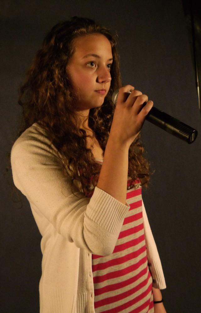 Katarzyna Górska jest uczennicą szkoły estradowej.
