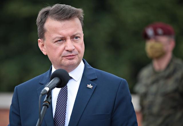 Minister obrony narodowej Mariusz Błaszczak jest na kwarantannie