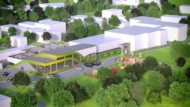 Wizualizacja nowego basenu na Miedzyniu