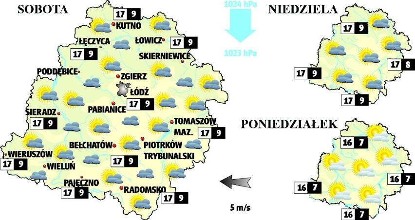 Pogoda w Łodzi i w regionie. Sprawdź prognozę na weekend