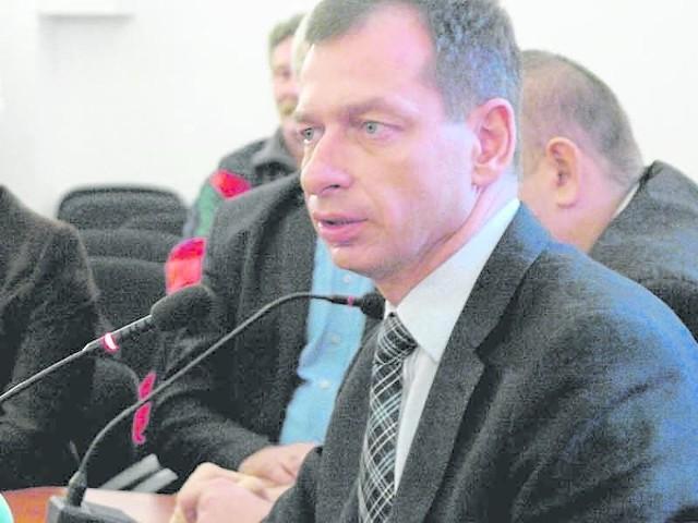 Tomasz Hynda w samorządzie od 12 lat. Był też wicestarostą