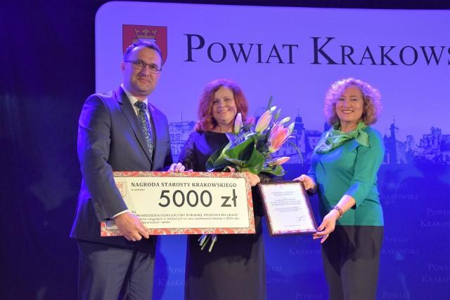 Gala Nagród Powiatu Krakowskiego i Nagród Starosty odbyła się w Jerzmanowicach