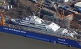 Solaris - nowy super jacht właściciela Chelsea Romana Abramowicza. Większy od Pałacu Buckingham