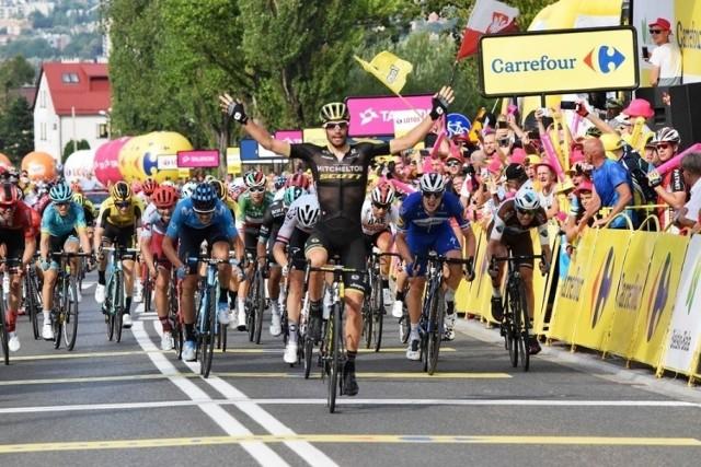 Peleton Tour de Poloogne finiszował w Bielsku-Białej w ostatnich latach już trzykrotnie
