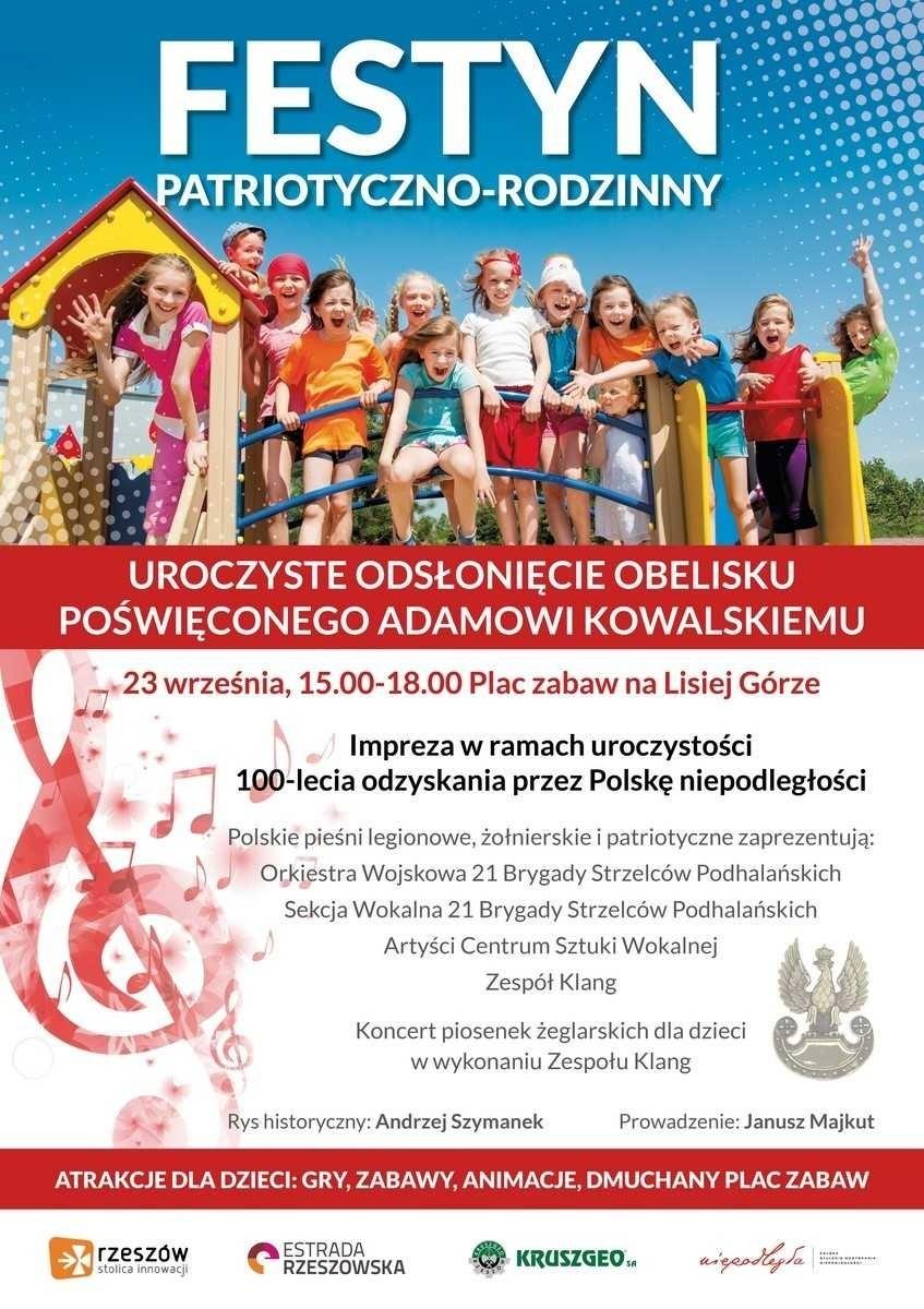 W Niedzielę Festyn Patriotyczno Rodzinny Na Lisiej Górze W