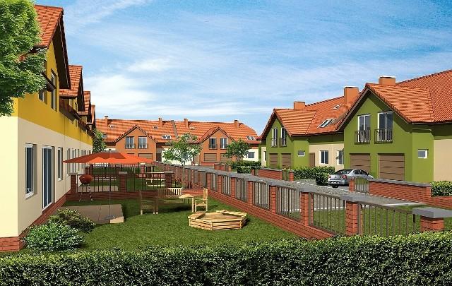 BudoprojektW Koszalinie przy ul. Sarzyńskiej ma powstać zamknięte osiedle domków jednorodzinnych. Będą gotowe za dwa lata.