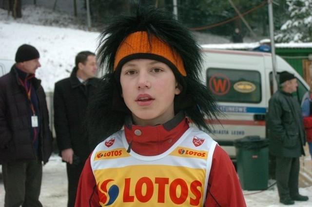 Michał Milczanowski znów stanął na podium