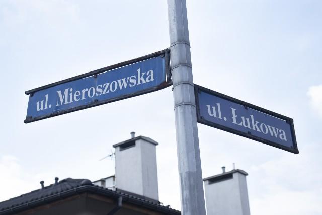 Skrzyżowanie Mieroszowskiej i Łukowskiej