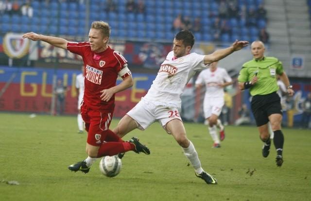 Widzewiacy żegnają się z Ekstraklasą