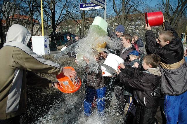 Lany poniedziałek w Szczecinie w 2005 roku