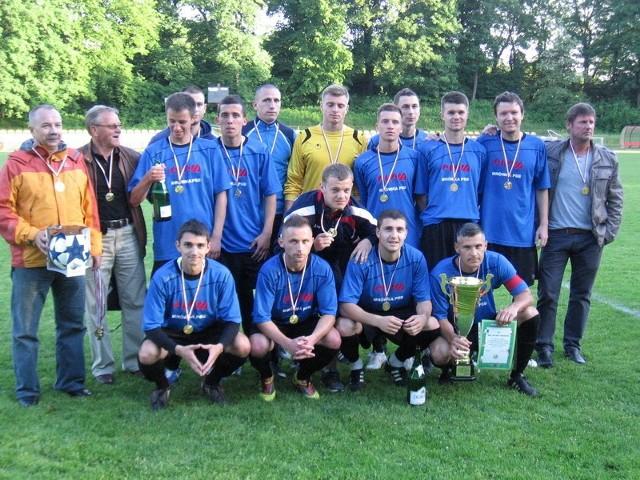 Polonia Przemyśl z Pucharem Polski