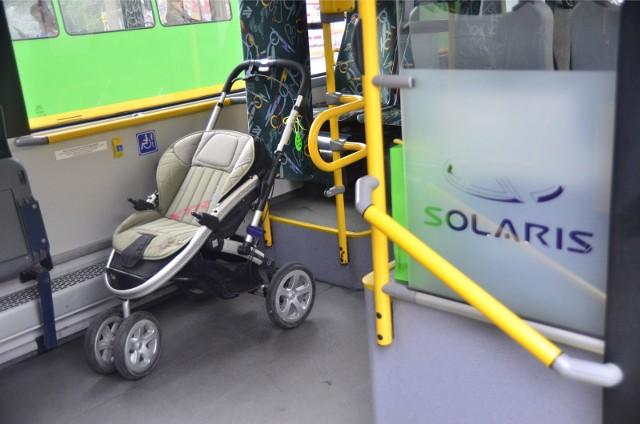 W Poznaniu regulamin przewozów nie precyzuje dopuszczalnej liczby wózków, które można przewozić pojazdami MPK