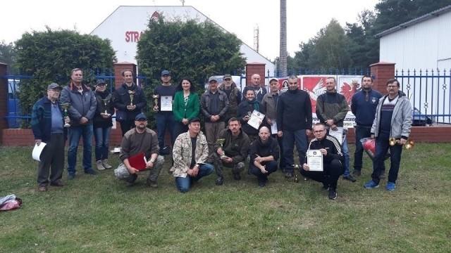 Zawody w dwuboju strzeleckim w Golubiu-Dobrzyniu