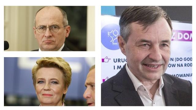 Decyzja o wszczęciu postępowania to kolejna odsłona konfliktu prezydent i wojewody toczącego się wokół osoby Piotra Rydzewskiego (z prawej)