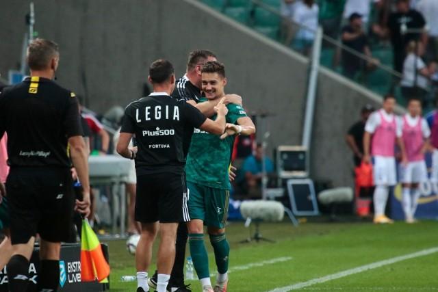 Rezerwowa Legia pokonala Wisłę. Muci odpalił bombę z dystansu