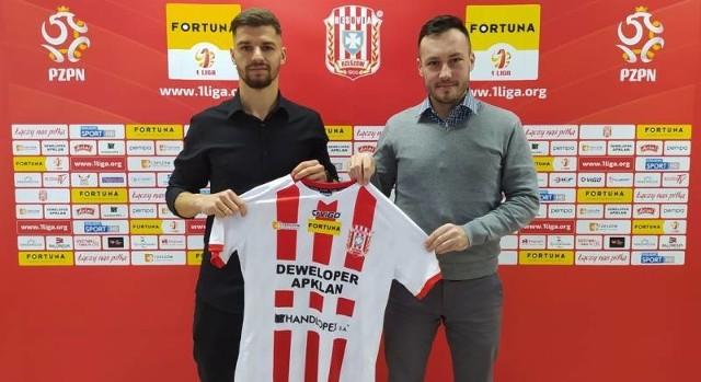 Jakub Wróbel został wypożyczony z mieleckiego klubu do końca sezonu