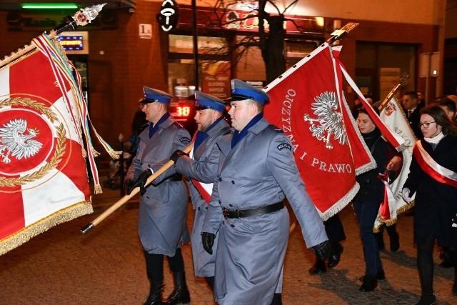 100-lecie odzyskania niepodległości. Podlascy policjanci świętowali w Łapach