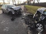 Tragiczny wypadek pod Wrocławiem na drodze krajowej 8. Jedna osoba nie żyje, trzy zostały ranne