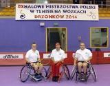 Tenis na wózkach: Zawodnicy Warty Poznań z medalami