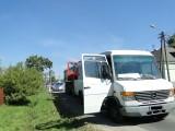 Wypadek w Gorczynie. Ciężarówka wjechała w busa. Ranni pasażerowie [ZDJĘCIA]