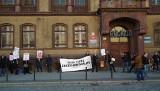 Poznań: Protest anarchistów przeciw brutalności policji [ZDJĘCIA]
