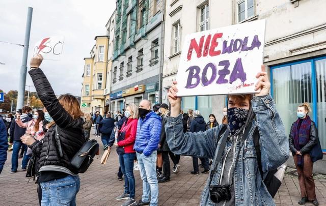 Demonstracje na Pomorzu. Tysiące ludzi na ulicach.