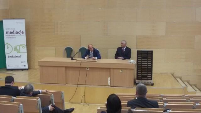 Min. Borys Budka na Uniwersytecie Śląskim