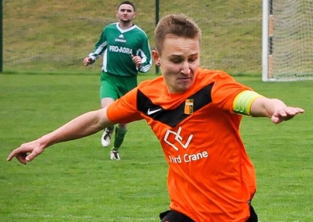 Konrad Górniaszek zdobył dwa gole dla ekipy z Ozimka.