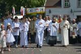 Uroczystości Bożego Ciała w Słupsku. Ulicami przeszły procesje (wideo, zdjęcia)