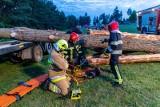 """Koło Wasilkowa odbyły się międzynarodowe manewry ratowników techniczno-medycznych """"Żniwa 2021"""" (zdjęcia)"""