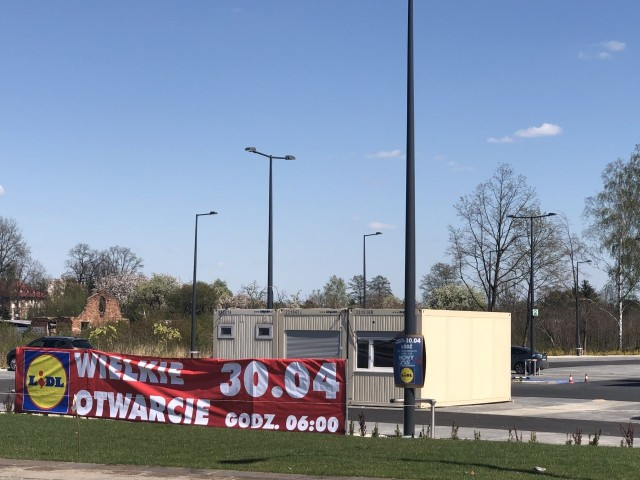 30 kwietnia zostanie otwarty 20. Lidl w Łodzi