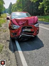 Wypadek koło Przydargini. Zderzenie na DK nr 11 na drodze Koszalin - Bobolice
