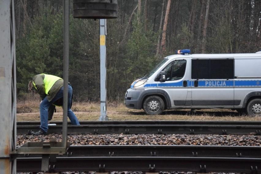 Śmiertelne potrącenie przez pociąg relacji Skierniewice – Warszawa.