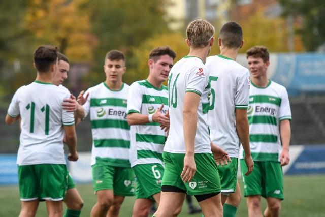 Lechia Gdańsk rozbiła 8:2 Gwarka Zabrze w meczu 12. kolejki Centralnej Ligi Juniorów U-18.