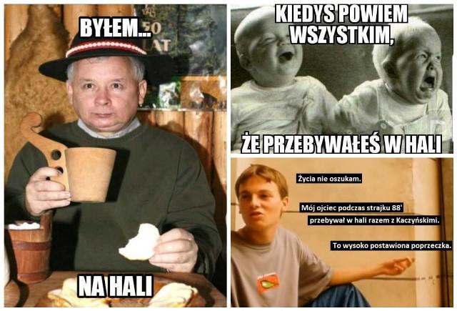 Przebywali W Hali Memy Z Braćmi Kaczyńskimi Robią Furorę W