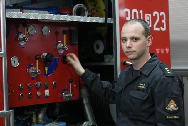 W tym roku mamy już komlpet chetnych na kursy - mówi kpt. Marcin Janowski
