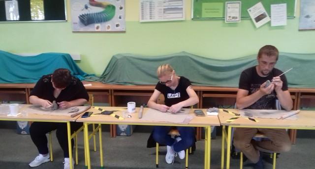 Warsztaty w Klubie Integracji Społecznej w Chełmnie