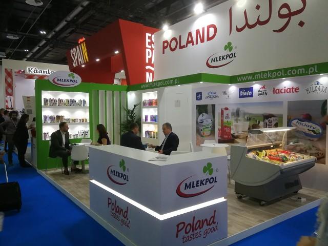 Targi Gulfood w Dubaju to jedna z największych imprez branży spożywczej na świecie. Spółdzielnia Mleczarska Mlekpol w Grajewie bierze udział w wydarzeniu po raz trzeci.
