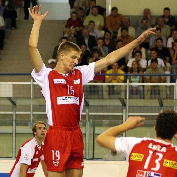 Tomasz Kusior zdobył w meczu z AZS-em w Olsztynie pierwszy punkt w ekstraklasie. Życzymy kolejnych, już w sobotnim spotkaniu ze Skrą.