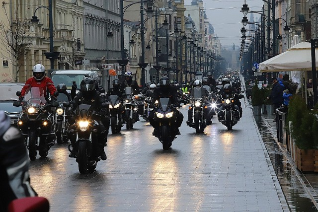 Rozpoczęcie sezonu motocyklowego 13 kwietnia 2019 w Łodzi