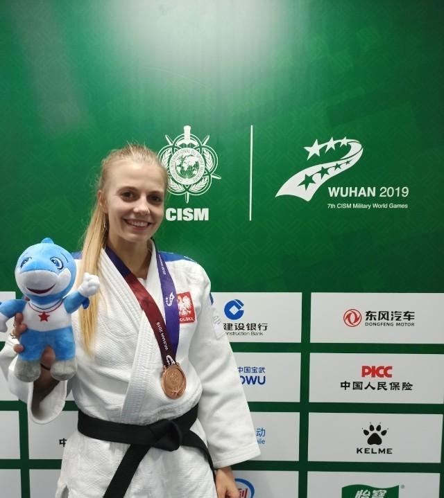 Eliza Wróblewska w poprzednim roku wywalczyła brązowy medal na Światowych Igrzyskach w chińskim Wuhan. Trzy miesiące później ta metropolia stała się już miastem zamkniętym...