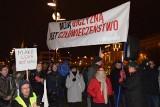 Wrocław wolny od faszyzmu. Demonstracja pod Dworcem Głównym
