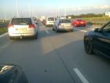 Autostrada A4: Potężny korek przed bramkami poboru opłat. Miał 6 kilometrów