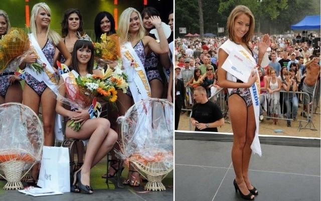 Na zdjęciu po lewej najpiękniejsze z najpiękniejszych tegorocznych plażowiczek. W środku Miss Miedwia 2009, Paulina Cieślik, z lewej z szarfą stoi I wicemiss Monika Piaskowska, z prawej II wicemiss Ilona Świstak. Na zdjęciu z prawej Miss Czytelników Głosu - Claudia Kłossowska.