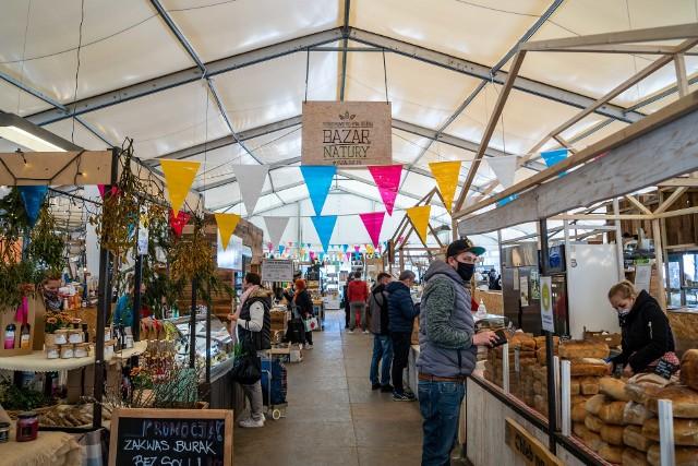 Bazar Natury w Garnizonie w sobotę, 1.05.2021 r.
